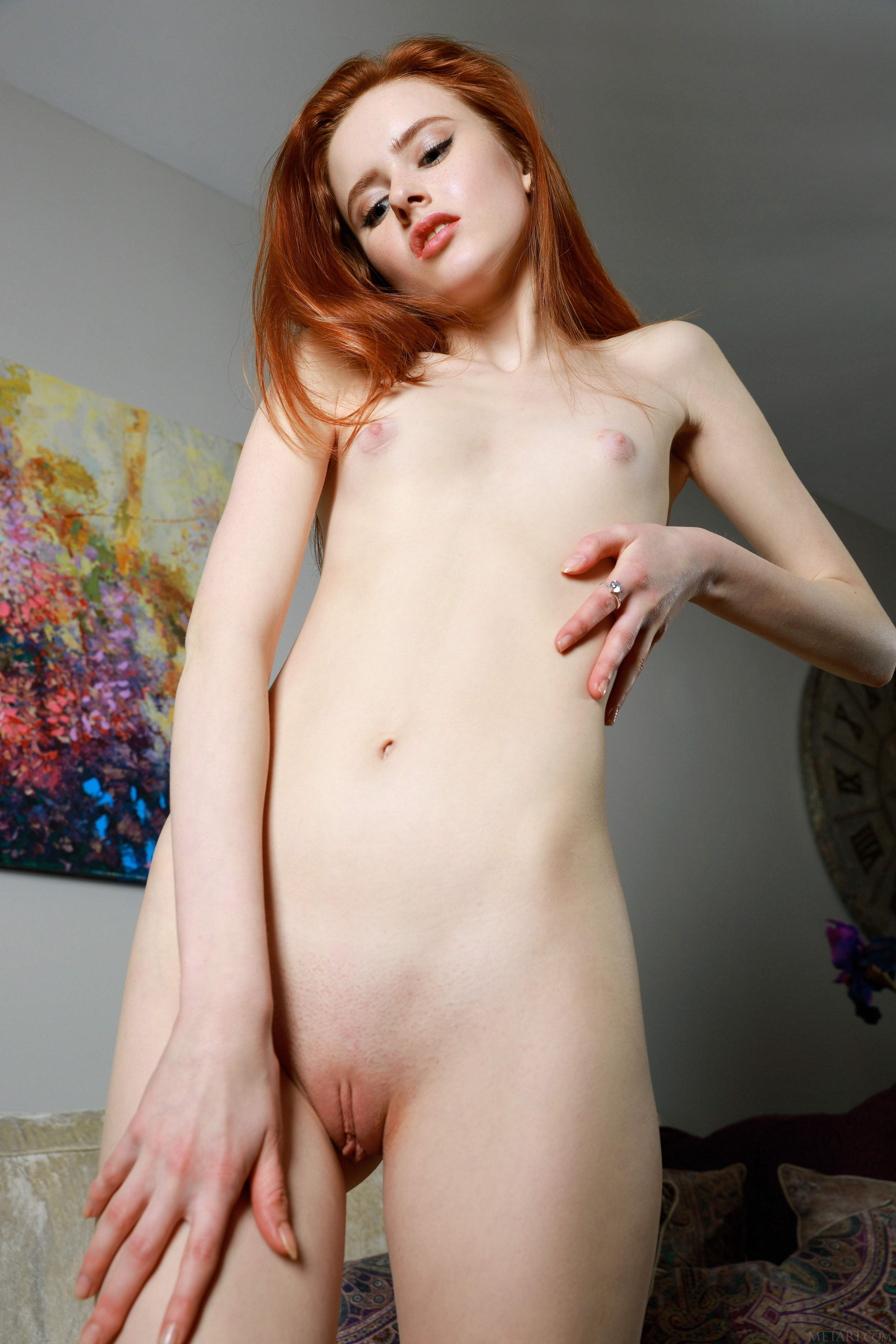 Skinny red pussy gallery
